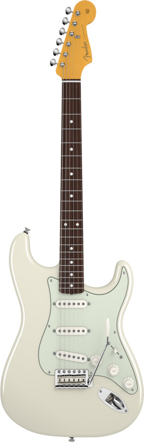 Fender John Mayer Stratocaster Olympic White Artist Series Electric