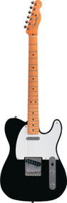 Fender 50'S Telecaster Black With Gig Electric Guitar 0131202306