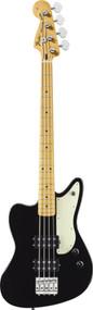 Fender Pawn Shop Reverse Jaguar Bass Black 0143502306