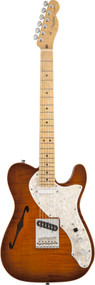 Fender Select Thinline Telecaster Birdseye Maple Fingerboard Violin Burst