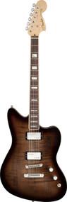 Fender Select Carved Maple Top Jazzmaster HH Rosewood Fingerboard Twilight Burst