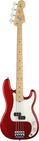 Fender American Standard Precision Bass Maple Fingerboard Mystic Red 193602794