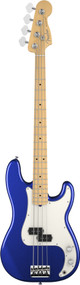 Fender American Standard Precision Bass Maple Fingerboard Mystic Blue 0193602795