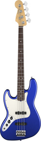 Fender American Standard Jazz Bass Maple Fingerboard Left Handed Mystic Blue