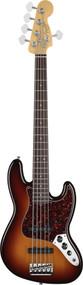 Fender American Standard Jazz Bass 2012 V 5 String Rosewood 3-Color Sunburst