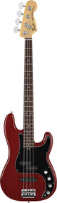 Fender American Deluxe Precision Bass Rosewood Wine Transparent Ash 0194070775