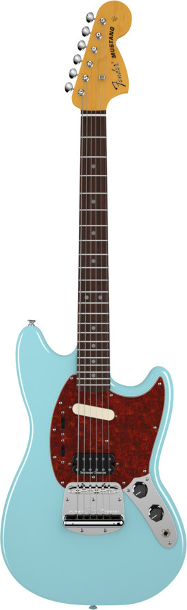 fender kurt cobain mustang sonic blue 0251400572 tundra music inc vintage guitars store more. Black Bedroom Furniture Sets. Home Design Ideas