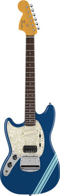 Fender Kurt Cobain Mustang Left Handed Lake Placid Blue With Stripes 0251421502