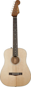 Fender Newporter Traveler Acoustic Guitar Natural 0968029021