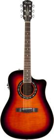Fender T-Bucket 300CE Rosewood Fingerboard 3-Color Sunburst Flame Maple