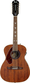 Fender Tim Armstrong Left-Handed Hellcat 12-String Acoustic-Electric Guitar Nat.