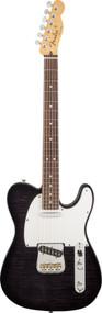 Fender Custom Shop Custom Deluxe Telecaster Rosewood - Ebony Transparent1509860839