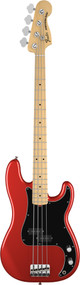 Fender American Special Precision Bass Maple Candy Apple Red With Gig Bag