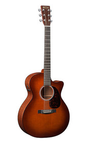 Martin GPCPA4 Shaded - Sapele Back and Sides - Fishman F1 Analog - 2014