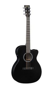 Martin OMCPA5 - Black HPL Back and Sides - Fishman F1 Analog - 2014