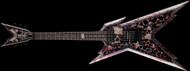 DISCONTINUED - Dean Razorback - Skullz w/USA Case Lefty