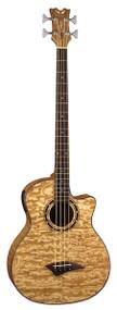 Dean Exotica Quilt Ash A/E Bass w/Aphex® GN