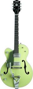 Gretsch G6118T Anniversary™ Left-Handed - Ebony Fretboard - Two-Tone Smoke Green - Bigsby Tailpiece
