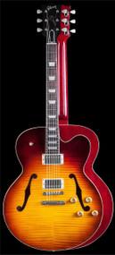 Gibson Custom Shop L-9 Les Paul Archtop - Heritage Cherry Burst - CSL9HSNH