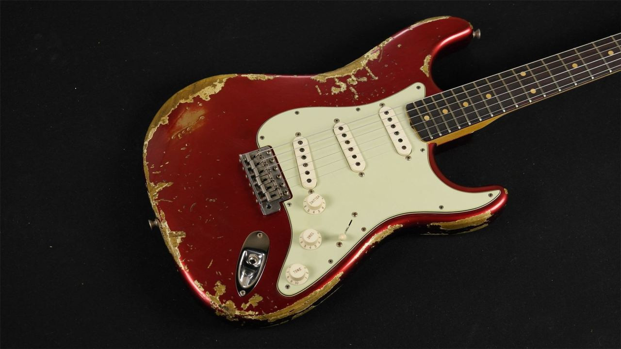 Fender Custom Shop 62 Stratocaster Super Heavy Relic