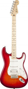 Fender Standard Stratocaster HSS Plus Top - Maple Fingerboard - Aged Cherry Burst