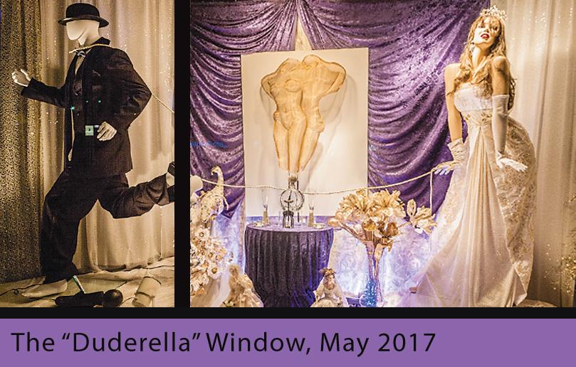 Duderella Window at Absolutely Fabulous