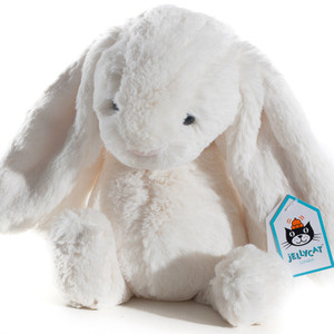 BASHFUL BUNNY, cream 12 in
