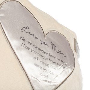 "Soft Pillow, ""Love you Mom"""