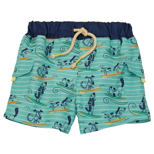 Doggie Paddle Swim Trunks