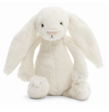 Cream Bashful Bunny by Jellycat