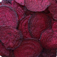 Beet Root Chips