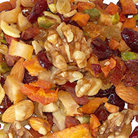 Nutty Fruitier Trail Mix