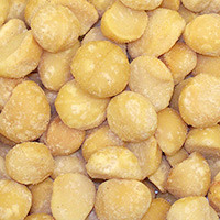 Macadamia Nuts, Roasted/Salted