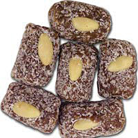 Date Nut Coconut Roll