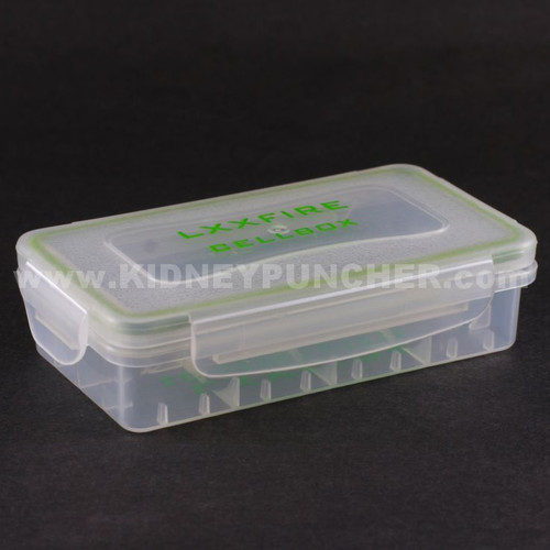 Water Proof 18650 Battery Case