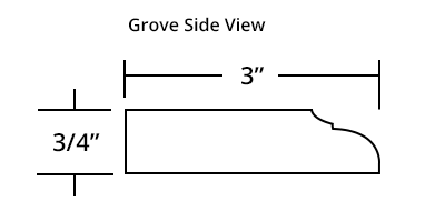 Grove Mirror Frame Profile
