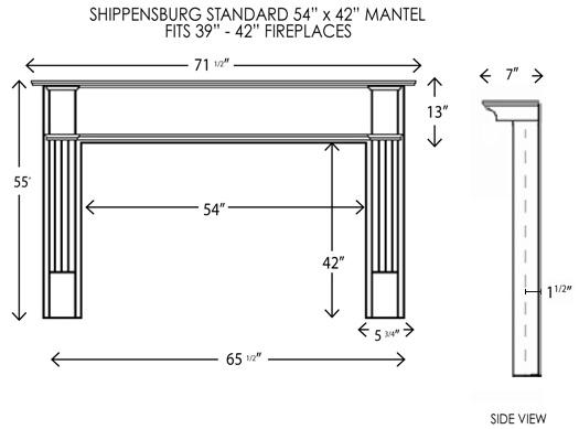 wood fireplace mantels fireplace surrounds. Black Bedroom Furniture Sets. Home Design Ideas
