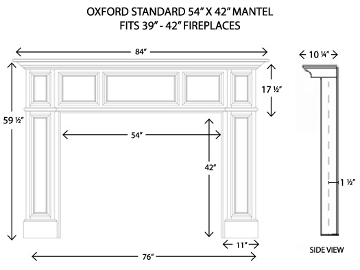 Wood Fireplace Mantels Fireplace Surrounds Oxford