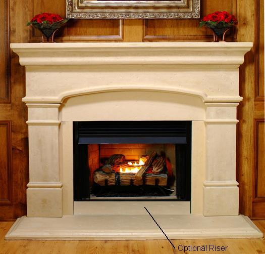 Mantel Surround Sandstone