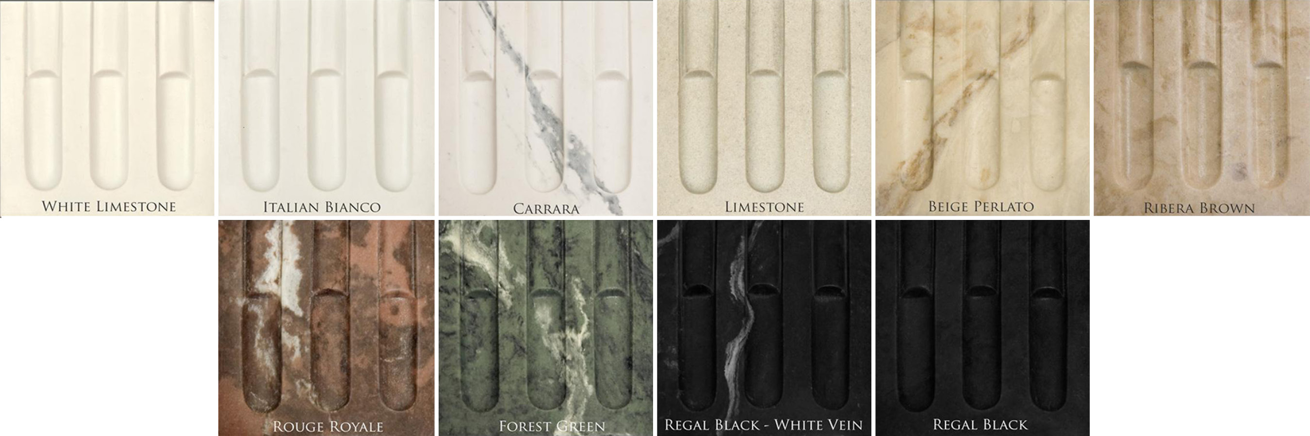 The Heritage Marble Collection consist of exact reproductions of antique marble fireplace mantels and are architecturally correct.