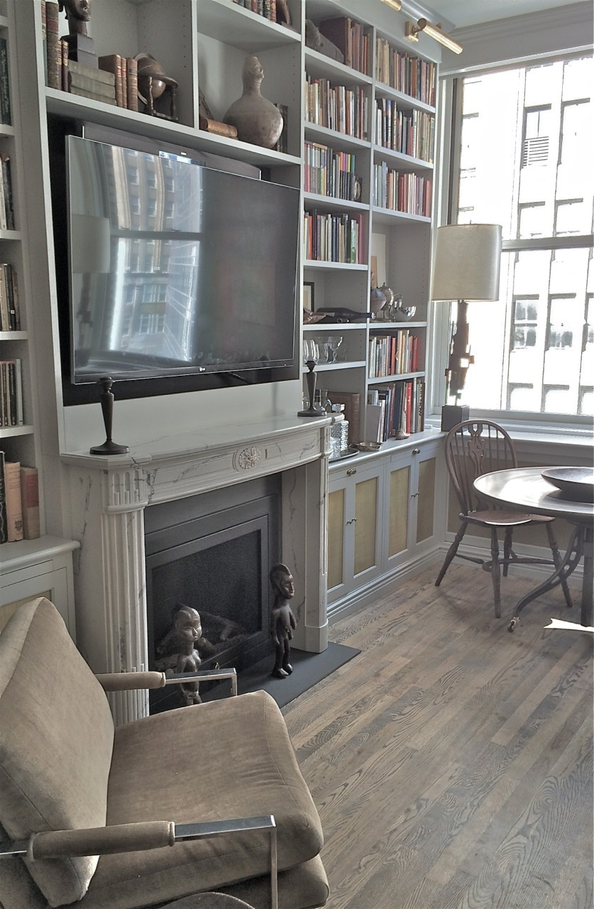 White French Marble Mantel