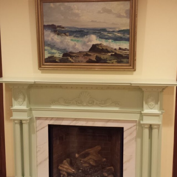 Newly Installed Victoria Fireplace Mantel Pic 1
