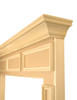 Paint grade mantel unfinished