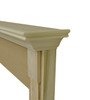 Shown with raise up protective edge trim in unfinished paint grade
