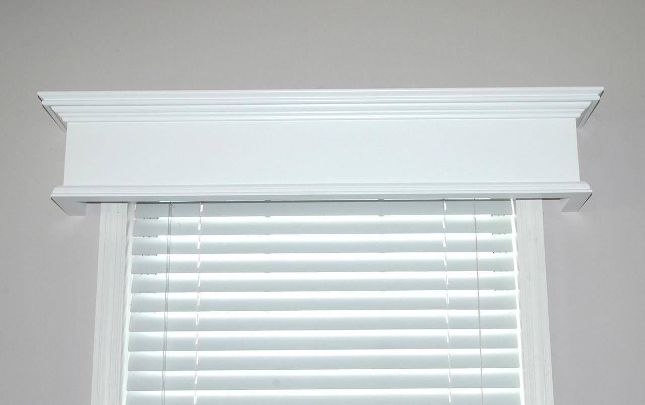 Custom Wood Cornices Window Treatments Colony