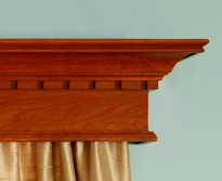 The Plymouth Cornice has dentil.