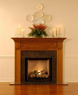 Wood Fireplace Mantels Fireplace Mantels Hampton