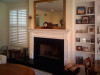 Customer submitted photo of their Hillsboro Fireplace Mantel