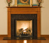 The Shippensburg fireplace mantels works well with limited wall space.