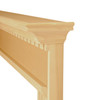 Sterling shown with raised up protective edge trim in paint grade unfinished